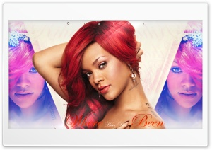 Rihanna - Where Have You Been HD Wide Wallpaper for Widescreen