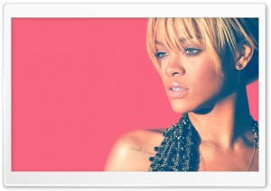 Rihanna Blonde Hair 2012 HD Wide Wallpaper for Widescreen