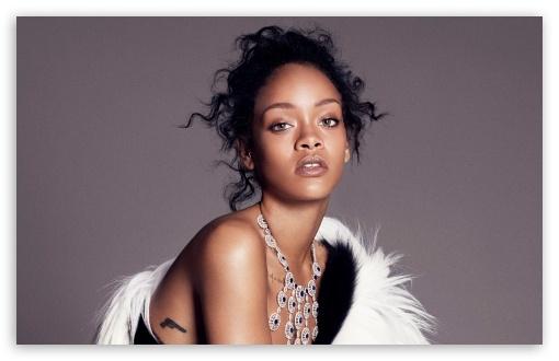 Rihanna Curly Hair 4k Hd Desktop Wallpaper For Wide