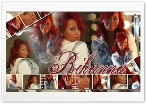 Rihanna Lights Ultra HD Wallpaper for 4K UHD Widescreen desktop, tablet & smartphone