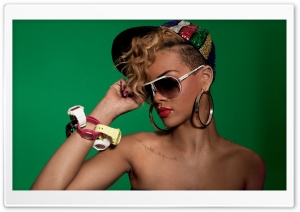 Rihanna Rude Boy HD Wide Wallpaper for Widescreen