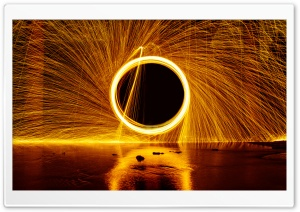 Ring of Fire HD Wide Wallpaper for Widescreen
