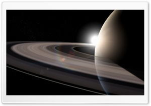 Rings Of Saturn HD Wide Wallpaper for 4K UHD Widescreen desktop & smartphone