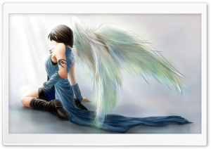 Rinoa Heartilly Angel Wings HD Wide Wallpaper for 4K UHD Widescreen desktop & smartphone