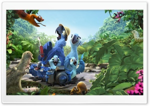 Rio 2 Amazon HD Wide Wallpaper for Widescreen