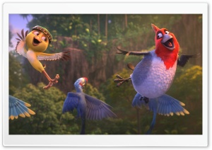 Rio 2 Film 2014 HD Wide Wallpaper for Widescreen