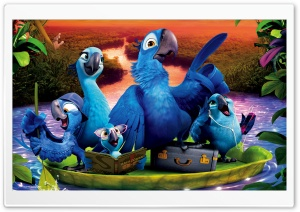 Rio 2 Kids HD Wide Wallpaper for Widescreen