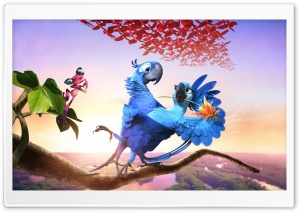 Rio 2 Movie 2014 HD Wide Wallpaper for Widescreen