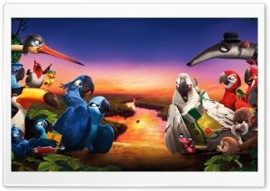 Rio 2 New 2014 HD Wide Wallpaper for 4K UHD Widescreen desktop & smartphone