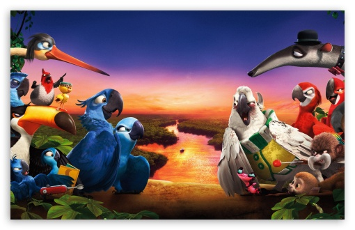 Rio 2 New 2014 HD wallpaper for Wide 16:10 5:3 Widescreen WHXGA WQXGA WUXGA WXGA WGA ; HD 16:9 High Definition WQHD QWXGA 1080p 900p 720p QHD nHD ; Mobile 5:3 16:9 - WGA WQHD QWXGA 1080p 900p 720p QHD nHD ;