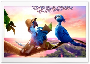 Rio 2 Travel HD Wide Wallpaper for Widescreen