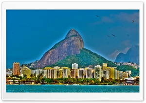 Rio De Janeiro Panorama HD Wide Wallpaper for 4K UHD Widescreen desktop & smartphone