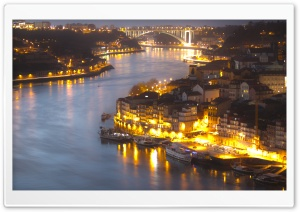 Rio Douro HD Wide Wallpaper for Widescreen
