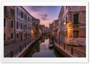 Rio Marin, Venice, Italy HD Wide Wallpaper for Widescreen