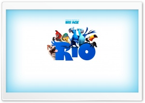 Rio Movie HD Wide Wallpaper for Widescreen