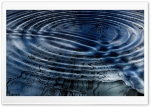 Ripples on Water HD Wide Wallpaper for Widescreen