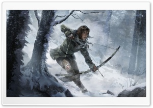 Rise of the Tomb Raider 2015 Video Game HD Wide Wallpaper for 4K UHD Widescreen desktop & smartphone