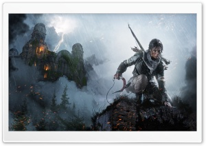 Rise of the Tomb Raider 2015 HD Wide Wallpaper for Widescreen