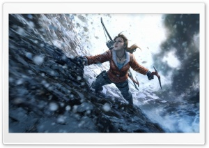 Rise of the Tomb Raider 20 Year Celebration Edition HD Wide Wallpaper for Widescreen