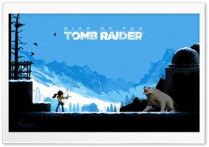 Rise of the Tomb Raider HD Wide Wallpaper for Widescreen