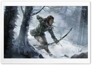 Rise of the Tomb Raider artwork HD Wide Wallpaper for 4K UHD Widescreen desktop & smartphone