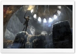 Rise of the Tomb Raider artwork HD Wide Wallpaper for Widescreen