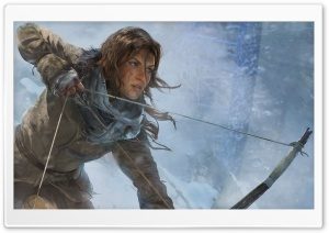 Rise of the Tomb Raider Concept Art HD Wide Wallpaper for 4K UHD Widescreen desktop & smartphone