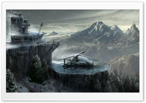 Rise Of The Tomb Raider Concept Art HD Wide Wallpaper for Widescreen