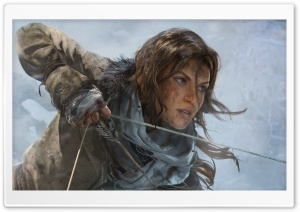 Rise of the Tomb Raider Lara Croft HD Wide Wallpaper for Widescreen