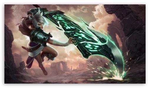 Riven League Of Legends 4k Hd Desktop Wallpaper For 4k