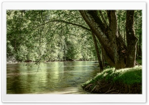 River HD Wide Wallpaper for Widescreen