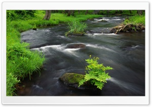 River Across HD Wide Wallpaper for Widescreen
