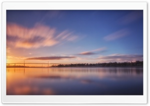 River Clyde at Morning HD Wide Wallpaper for Widescreen