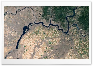 River Gorge Satelite View Ultra HD Wallpaper for 4K UHD Widescreen desktop, tablet & smartphone