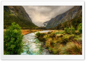 River In The Mountains Ultra HD Wallpaper for 4K UHD Widescreen desktop, tablet & smartphone