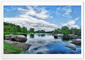 River, Summer HD Wide Wallpaper for Widescreen