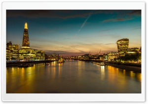 River Thames, England HD Wide Wallpaper for Widescreen