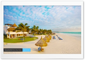 Riviera Maya, Mexico HD Wide Wallpaper for Widescreen