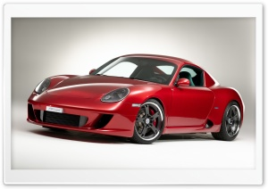 RK Coupe Based On Porsche Cayman 2007 HD Wide Wallpaper for Widescreen