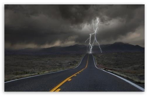 Download Road UltraHD Wallpaper