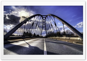 Road - Bridge HD Wide Wallpaper for Widescreen