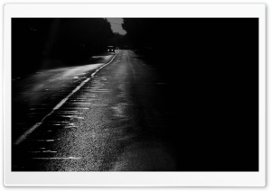 Road At Night HD Wide Wallpaper for Widescreen