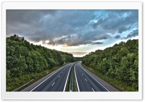 Road HDR HD Wide Wallpaper for Widescreen