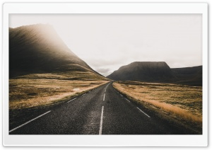 Road, Iceland Ultra HD Wallpaper for 4K UHD Widescreen desktop, tablet & smartphone