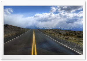 Road In Argentina HD Wide Wallpaper for Widescreen