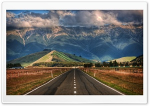 Road In New Zealand HD Wide Wallpaper for 4K UHD Widescreen desktop & smartphone