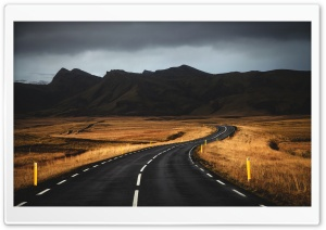 Road Landscape Ultra HD Wallpaper for 4K UHD Widescreen desktop, tablet & smartphone