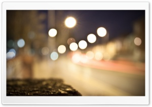 Road Lights HD Wide Wallpaper for 4K UHD Widescreen desktop & smartphone