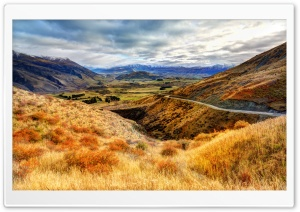 Road On The Hills HD Wide Wallpaper for 4K UHD Widescreen desktop & smartphone