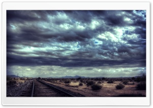 Road Rail HD Wide Wallpaper for Widescreen